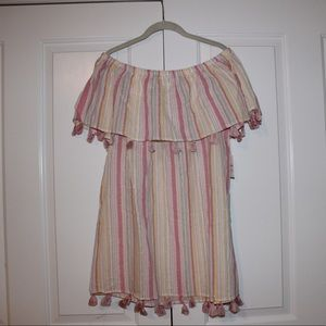 Forever 21 striped dress/cover up!